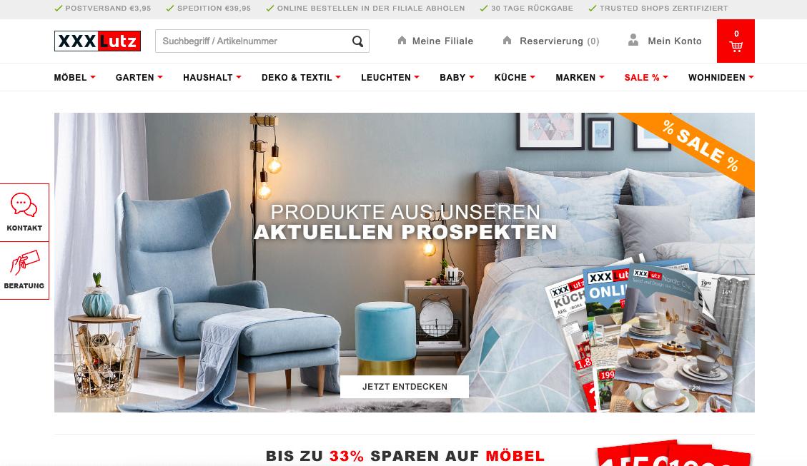 XXXL Rubbeln & Gewinnen   www xxxlshop de/gewinnen