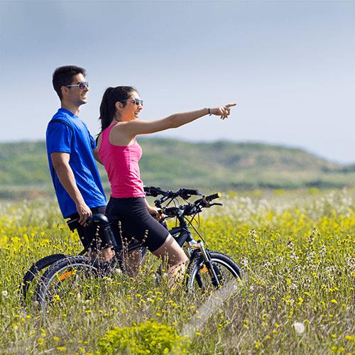 Afbeelding: Dagje weg met de fiets: van tulpenveld tot deltawerk