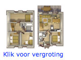 Dorpshuys 8 persoons inrichting
