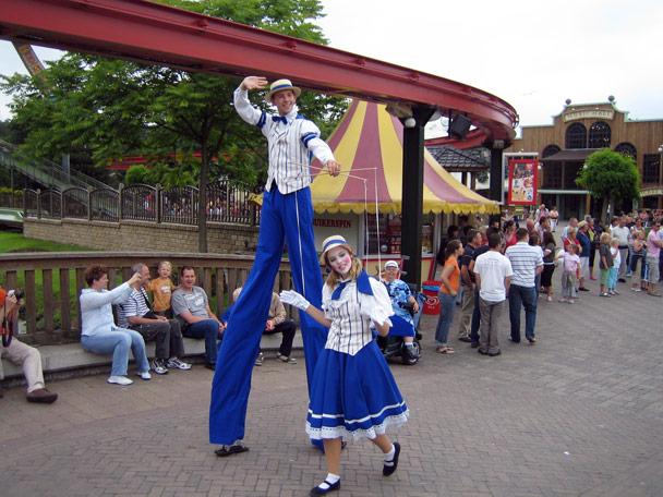 Attractiepark Slagharen Main Street Parade Foto 1
