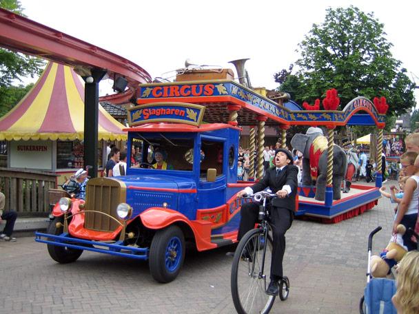 Attractiepark Slagharen Main Street Parade Foto 5
