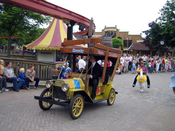 Attractiepark Slagharen Main Street Parade Foto 6