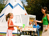 Vakantiepark Slagharen - Wigwam tent