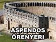 logo Aspendos Örenyeri