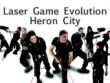 logo Laser Game Evolution Heron City