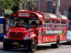Touristbus Amsterdam Nederland